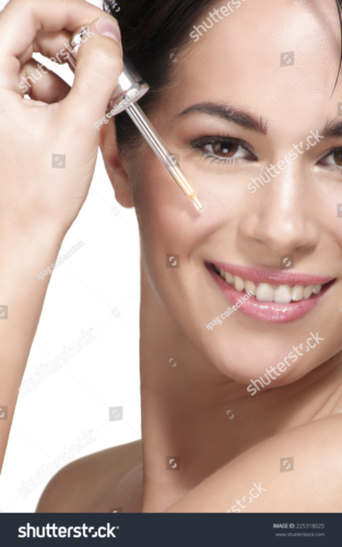 Line Filling and Smoothing Serum